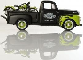 Harley-Davidson - HD PICKUP & 1948 FL PANHEAD - GREEN/BLACK