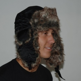 Fur Winter Cap De Luxe - No Animal Fur (Fostex)