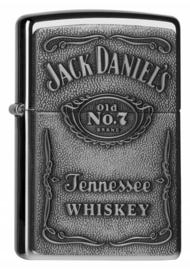 Zippo - Jack Daniel's® - Pewter Logo 3D