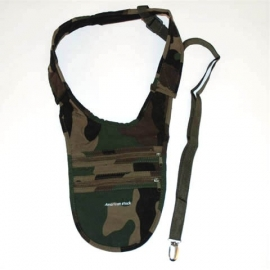 Shoulder Holster / purse Black or Camouflage