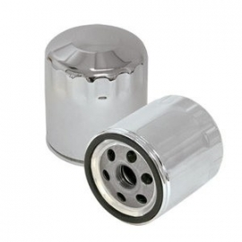 Oil Filter - S&S Chrome for Harley-Davidson 99-12 TWIN CAM; 1999 SOFTAIL