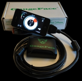 Harley-Davidson - GAUGEFACE, DIGITAL GAUGE ON IPHONE/IPOD