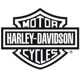 HARLEY-DAVIDSON 75X55mm - sticker