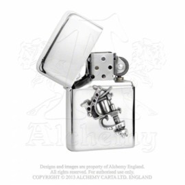 Alchemy England Zippo - Tattoo Gun Petrol Lighter