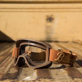Goggles - Biltwell - Chocolate - MOTO 2.0