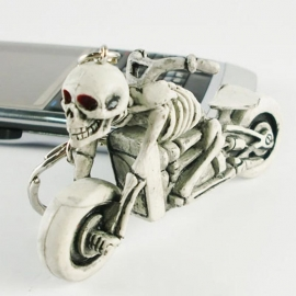Keychain - Skeleton Bike