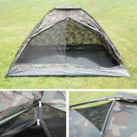Tent 4 persons Monodome Camouflage