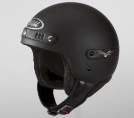 Nau - Mustang Helmet - Flat Black - ECE 22.05