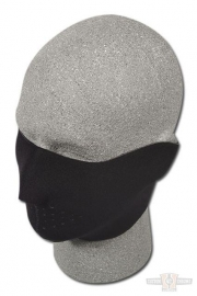 Face Mask - Half - Black -  Zan HeadGear