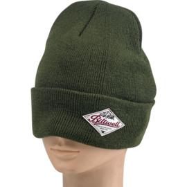 Biltwell Camper Beanie - Olive Green