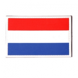 PVC & VELCRO PATCH - Dutch Flag - vlag Nederland - Holland - the Netherlands