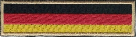 GOLDEN PATCH - Flash / Stick - German flag - Deutsche Flagge - Germany - Deutschland