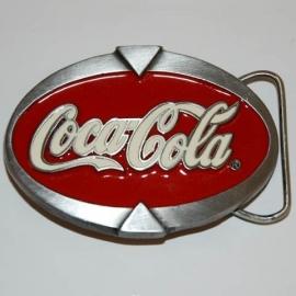Belt Buckle - Coca-Cola - Oval