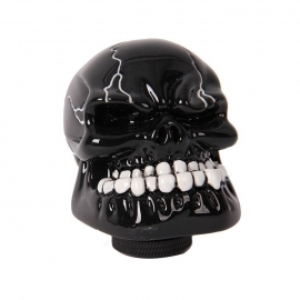 Momo - Black Skull Gear Shift Knob - Shifter