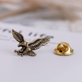 Pin - Biker Eagle Gold - Small
