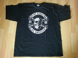 King Kerosin - Los Angeles, Dead End, Car CLub T-shirt - Skull with Crossed Bones - SALE