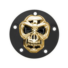 Skull Point Cover - Gold / Black - TwinCam 99-17