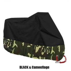 Rain Cover Big Bike 4XL - Black/Camo