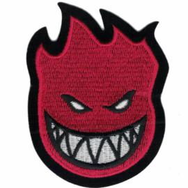 PATCH - Skate logo - Spitfire on Wheels - RED