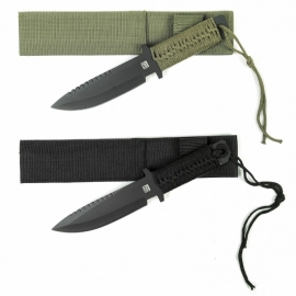 """Knife - Combat Knife Recon 10"""" Model A - black or green"""
