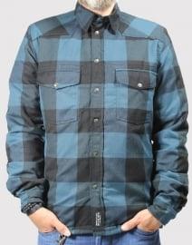John DOE - MotoShirt LUMBERJACK SHIRT - BLUE