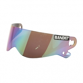 Bandit XXR - Iridium Rainbow Mirror Visor (also for Bandit Crystal / SuperStreet II)