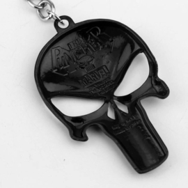 Metal Keychain - PUNISHER - Black / Bronze