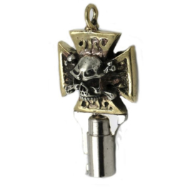 Skull Cross Key for Harley-Davidson - Handmade!