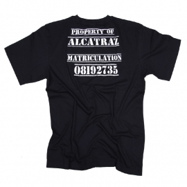 Alcatraz - Double Print T-shirt - Black