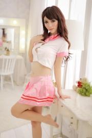 Pink & White School Uniform O.S.