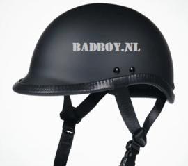 Polo Cap Helmet, Flat Black