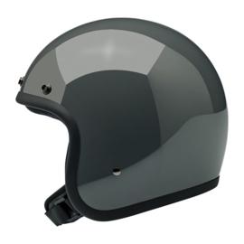 BiltWell Bonanza Helmet - GLOSS STORM GREY (DOT) - LIMITED