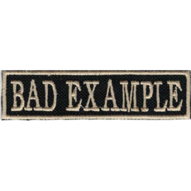 PATCH - BAD EXAMPLE - Golden Stick