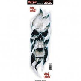 Lethal Threat Decals/Stickers / Skull Bite (45cm x 15cm)