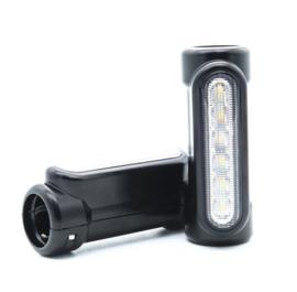 Highway Bar Lights - 12 LED - Black Coated