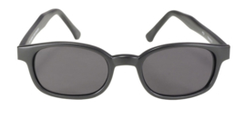 Sunglasses - Classic KD's - POLARIZED GREY - Matte black Frame