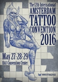 x 2016/05, 27-29 may - 12th Amsterdam Tattoo Convention