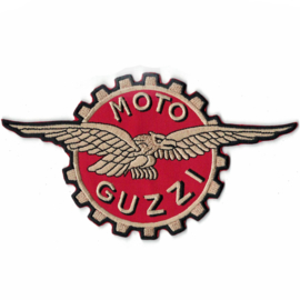 large PATCH - logo - MOTO GUZZI