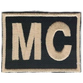 golden PATCH - MC - Motorcycle Club