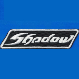Patch - white - Honda SHADOW