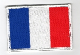 PATCH - French flag - France - Francia - drapeau Francais