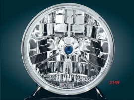"Adjure - 5 3/4"" BLUE DOT HEADLAMP for Harley-Davidson"