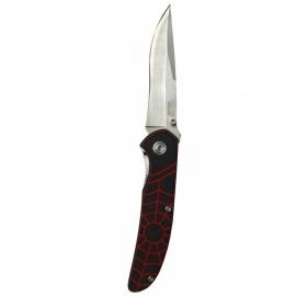 Red Spider Web Knife + Clip - 11cm blade