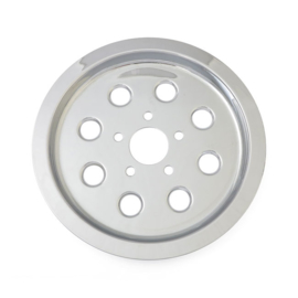 CHROME PULLEY COVER - 8 Holes - 65T