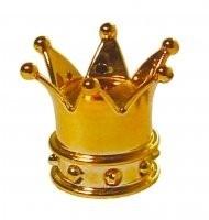Valve Caps - Crown Gold - TrikTopz