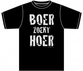 BadBoy T-shirt - Boer zoekt Hoer