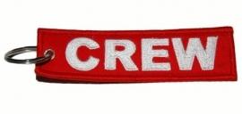Keychain - CREW `Red & White`