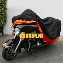 Rain Cover Big Bike 4XL - Black/Orange H-D