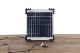 OptiMATE CHARGER ALL 12V BATTERIES - SOLAR PANEL 10 W