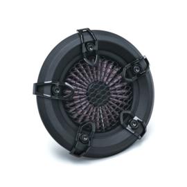 CRUSHER REVOLT AIR CLEANER - BLACK - MESH